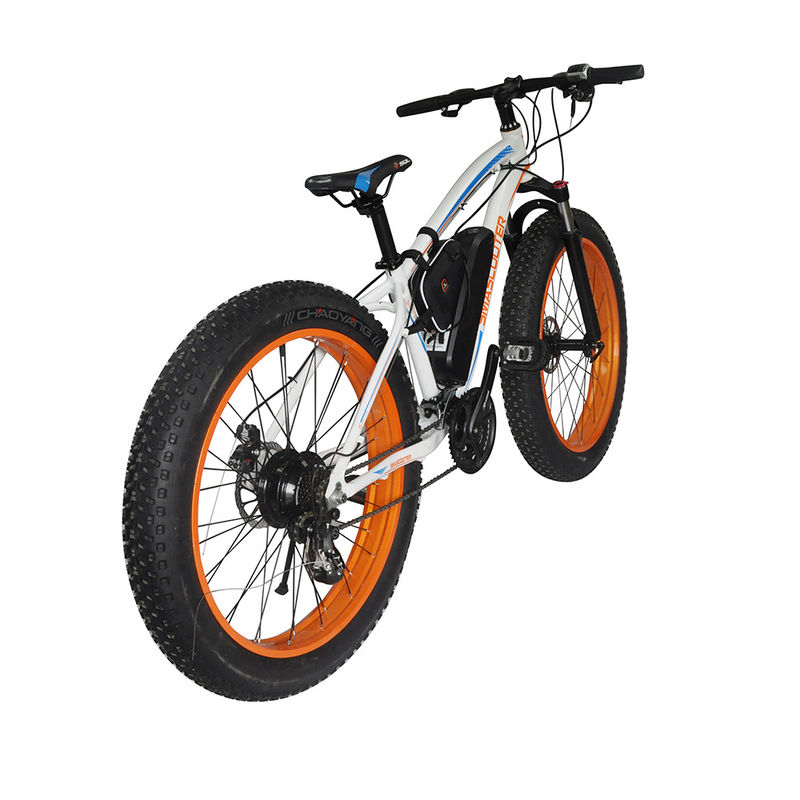 Fat Tire Snow 2 Wheel Electric Bike 500w Foldable 4-6h Charging Time With CE Certification