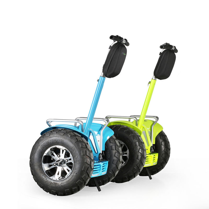 Self Balancing Electric Chariot Scooter Two Wheels 72V Voltage 4000W For Adult